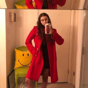 Jil Sander Red coat